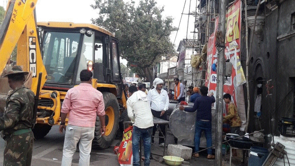 JMC holds drive against encroachers in many areas