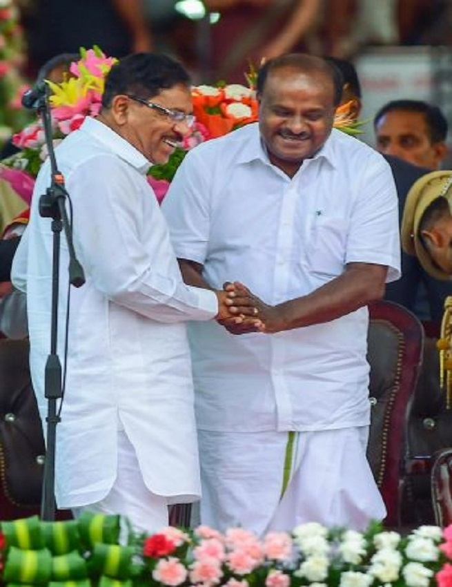 Kumaraswamy, a king crowned by arch rivals