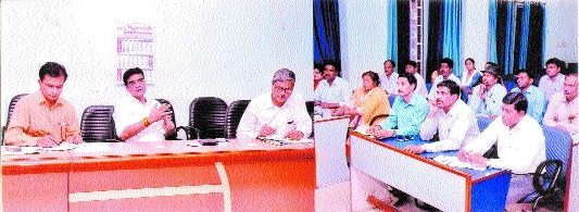 JMC Commr Shukla for ensuring cleanliness in all departments
