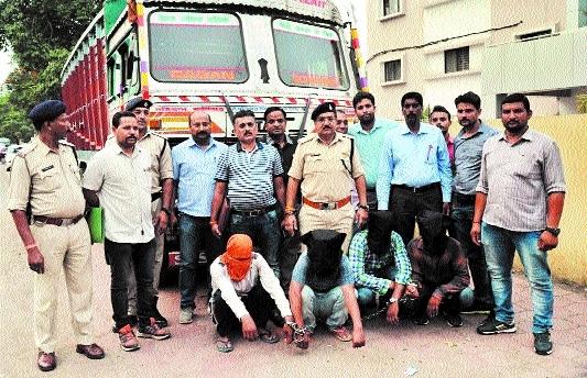 Cops crack truck loot, murder case