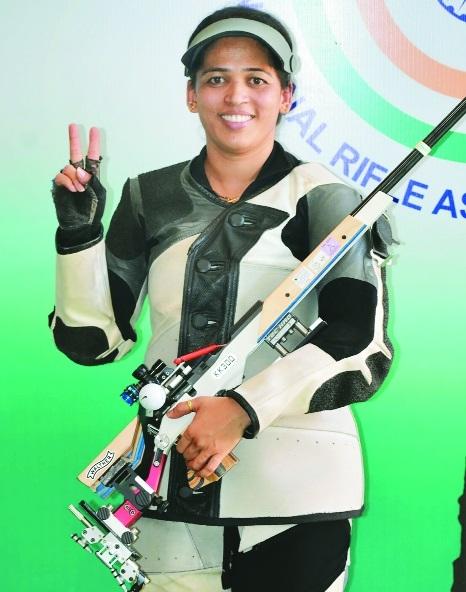 Tejaswini wins gold, Chain Singh silver at Munich WC