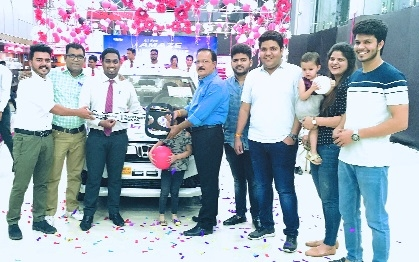 Rushabh Honda delivers first all-new 'Amaze' car