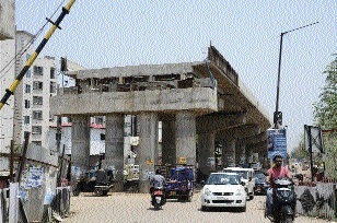 Railway portion of Anupan Nagar-Kachna over-bridge expected to complete by Aug