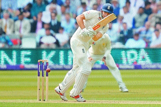 Cook makes battling 70 but Pakistan on top at Lord's