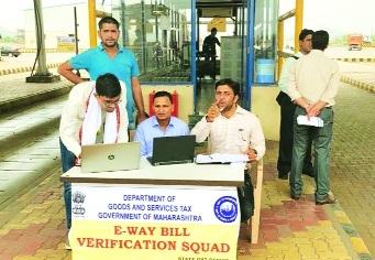 E-way bill: Special squads conduct surprise checks