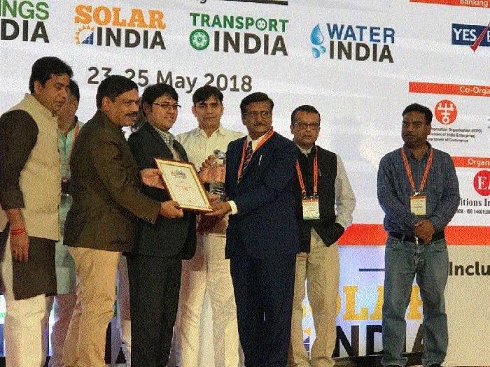 'Best Smart City Initiative' award to NRDA