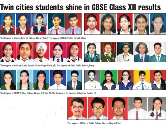 Twin cities students shine in CBSE Class XII results