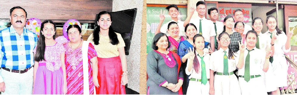 Shriya Parashar of DPS is city topper