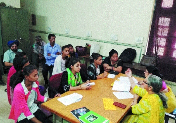 Career counselling for students of X, XI, XII under CM Scheme