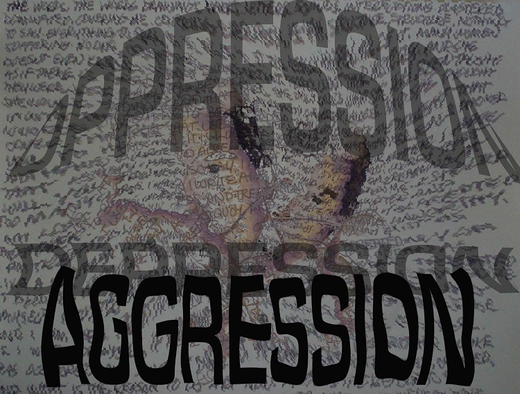 Aggression can be a sign of depression