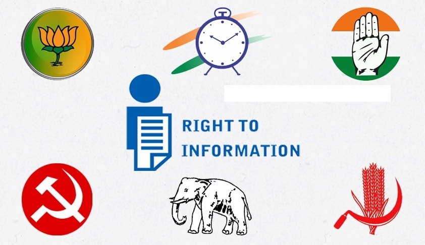 Political parties out of purview of RTI: EC