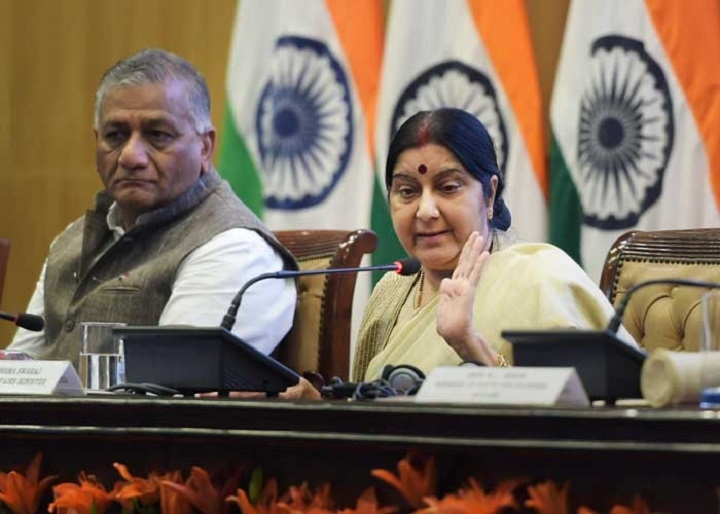 No dialogue with Pak till it shuns terrorism: Sushma