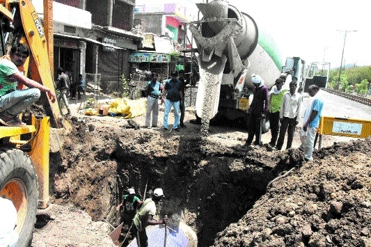 Rectification work in damaged pipeline at Ramnagra remains incomplete