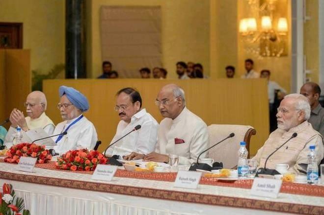 Gandhi's principle of 'Ahimsa' relevant in face of violence in world: President
