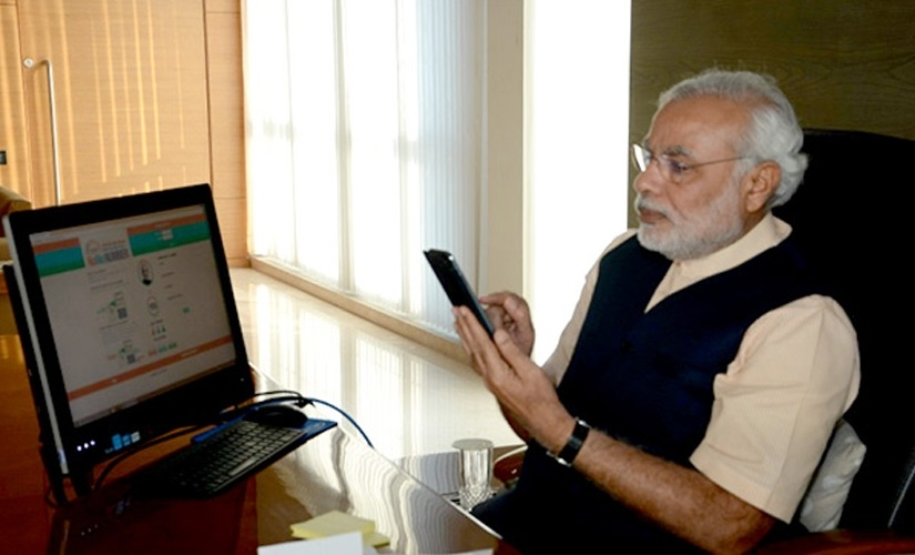 Modi woos poll-bound Karnataka farmers through mobile app