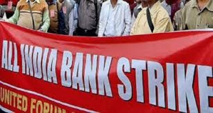 Over 10 lakh bankers to go on two-day strike on May 30-31