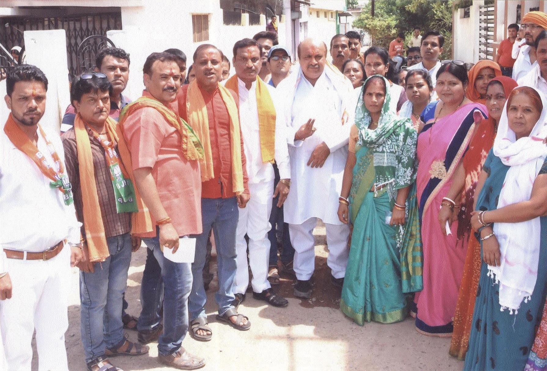 MLA Rohani takes out Vikas Yatra