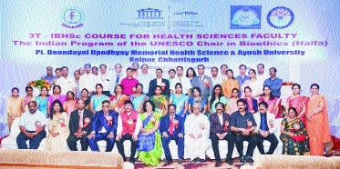 Intl Bioethics Training programme held