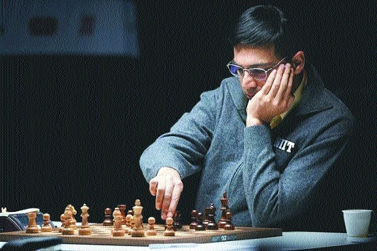 Anand holds Nakamura to easy draw