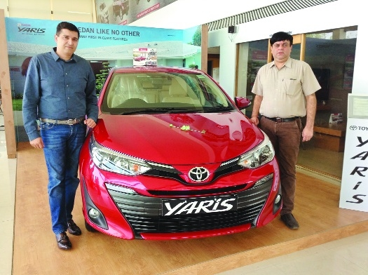 Grace Toyota launches Yaris