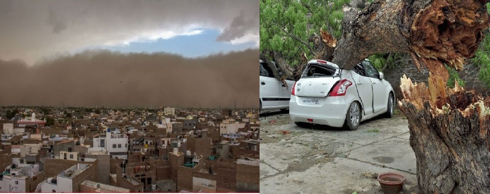 Over 100 killed as dust storm wreaks havoc in UP, Rajasthan
