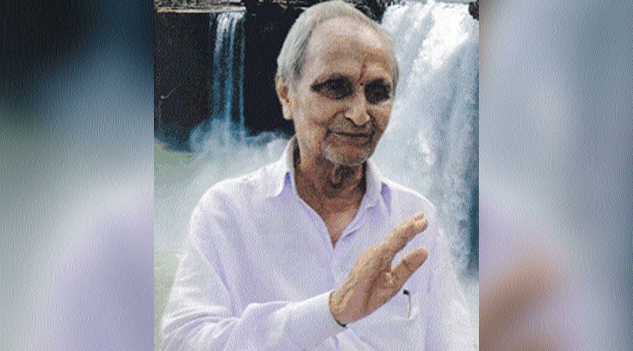 Freedom fighter Keyur Bhushan no more