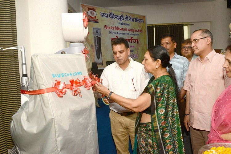 Governor inaugurates modern Vitesse Hypersonic Vrectomy Unit at Devji Netralaya