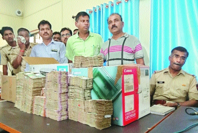 Cops recover stolen 'hawala' cash; 3 policemen among 7 arrested