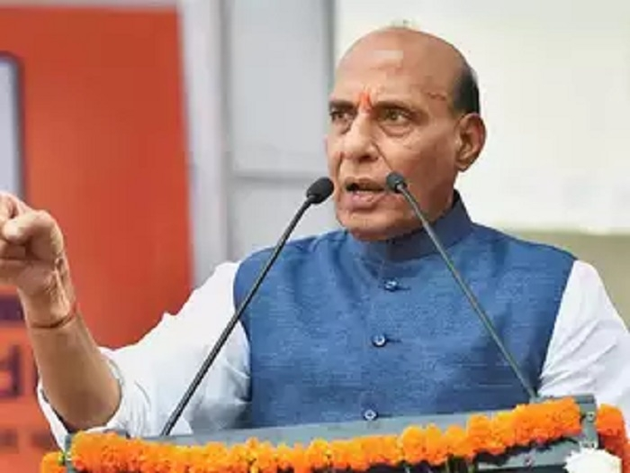 BJP will waive crop loans up to Rs 1 lakh in K'taka: Rajnath