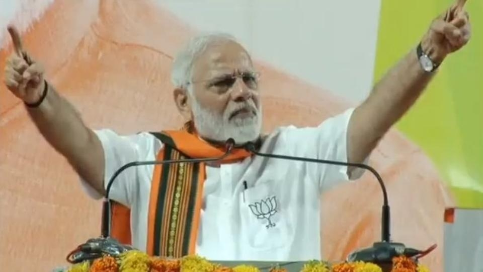 Karnataka Govt has become 'corruption tank' for Cong: Modi