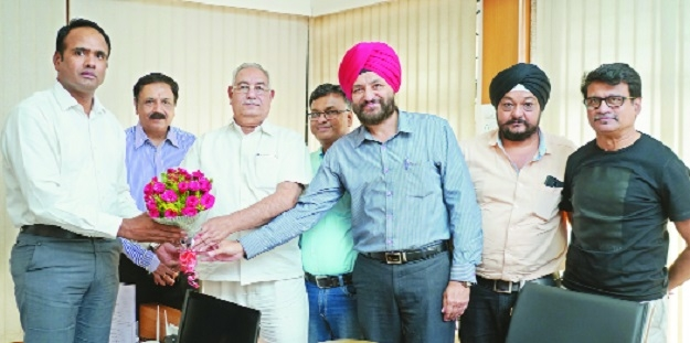 VTA welcomes NMC chief Virendra Singh
