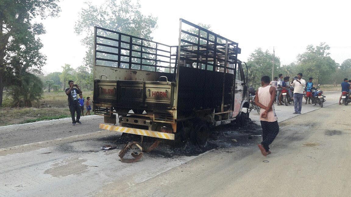 Naxals create nuisance during bandh