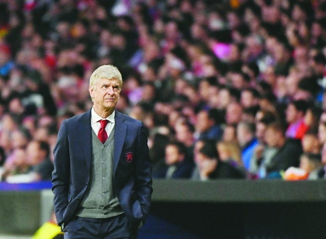 Wenger bids farewell to his Emirates