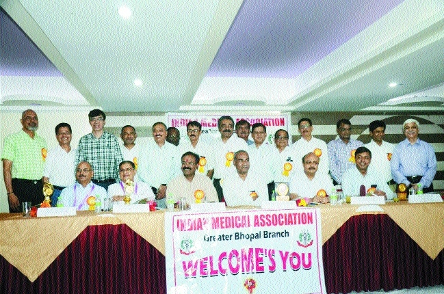 IMA greater Bhopal welcomes new president
