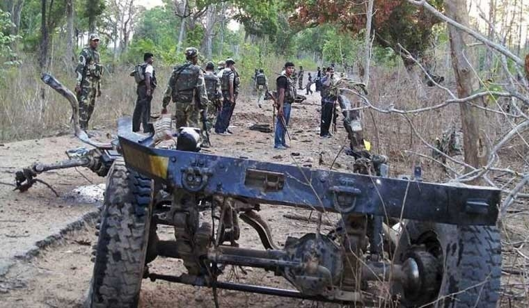 'Naxals rearm with rambo arrows, rocket bombs'