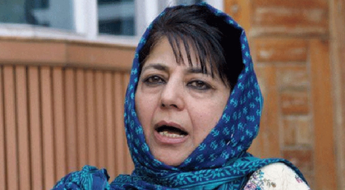Find a 'middle path' for ending cycle of violence in Valley: Mehbooba to Centre