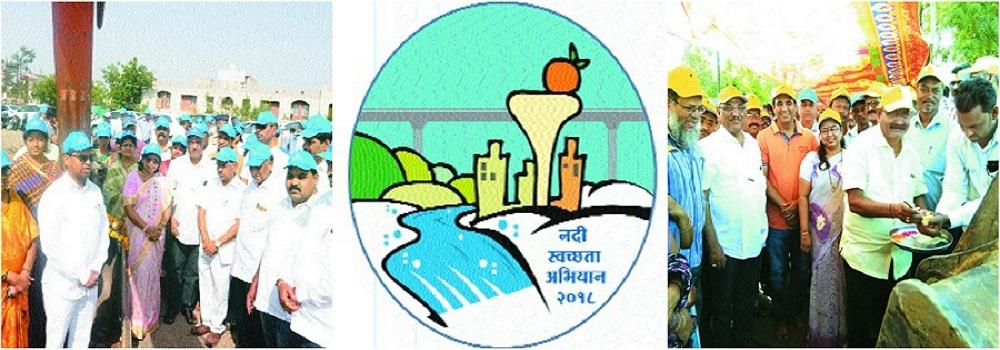 NMC starts drive to clean Nag, Pili and Pora rivers