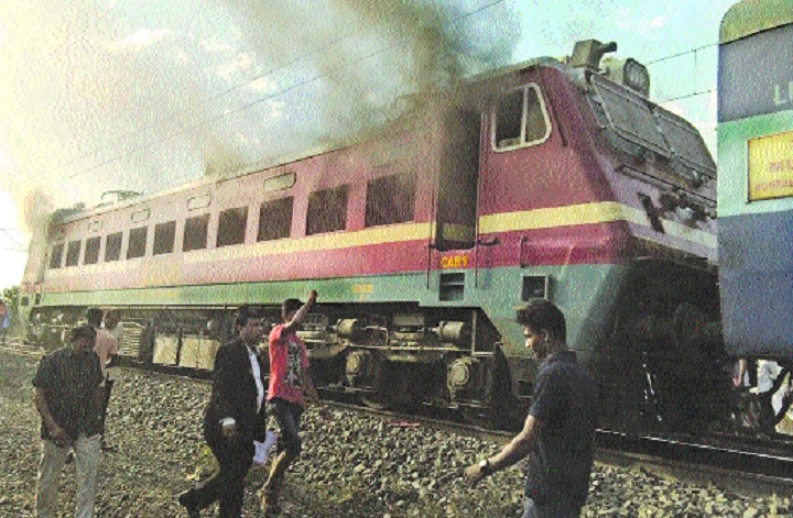 CRS to inquire into Mumbai Mail loco fire incident