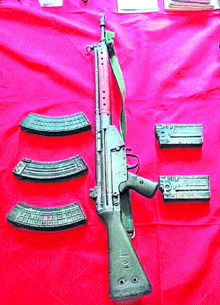 German made rifle recovered from Maoists
