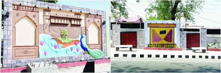 Bhopal Municipal Corporation's wall paintings grab eye of passers-by