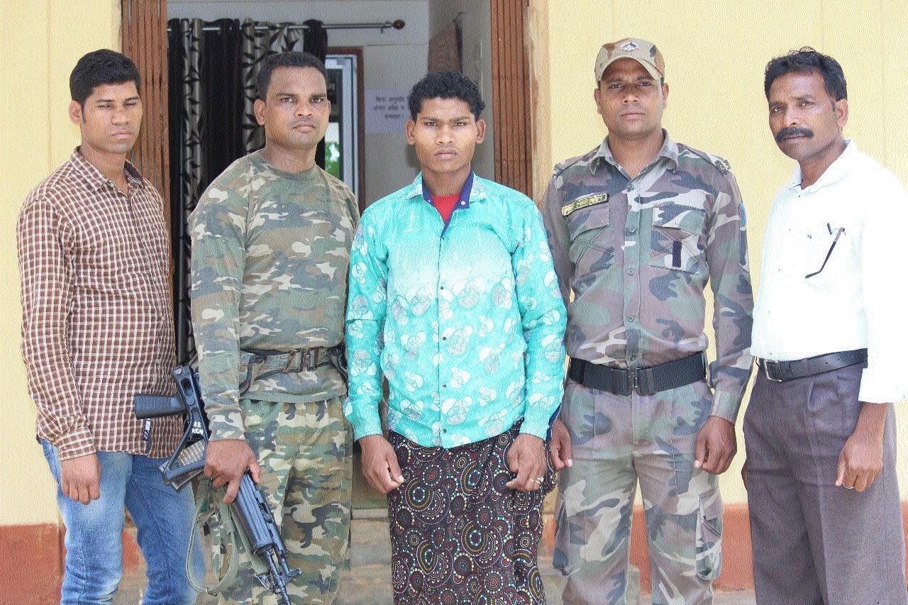 Hardcore Naxalite held in Kondagaon
