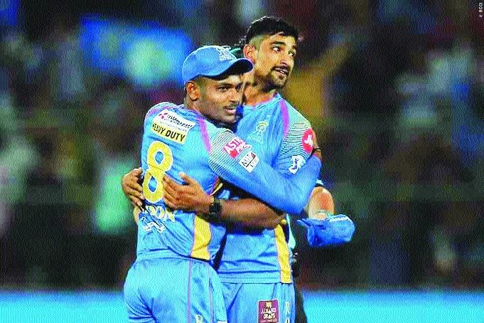 RR survive eliminationBeat Kings XI Punjab by 15 runs