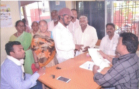 JMC holds registration camps for unorganised labourers