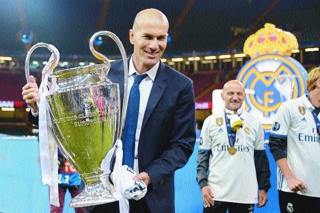 Zidane stuns Real