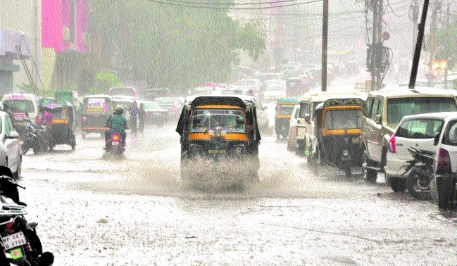 Heavy rains warning for many parts in State