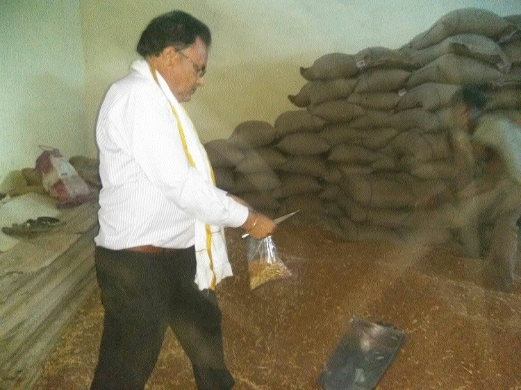 37 quintals of sub-standard chana stock seized in surprise raid at KUM