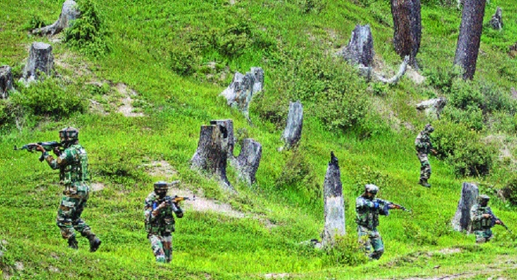 6 militants killed as Army foils infiltration bid along LoC