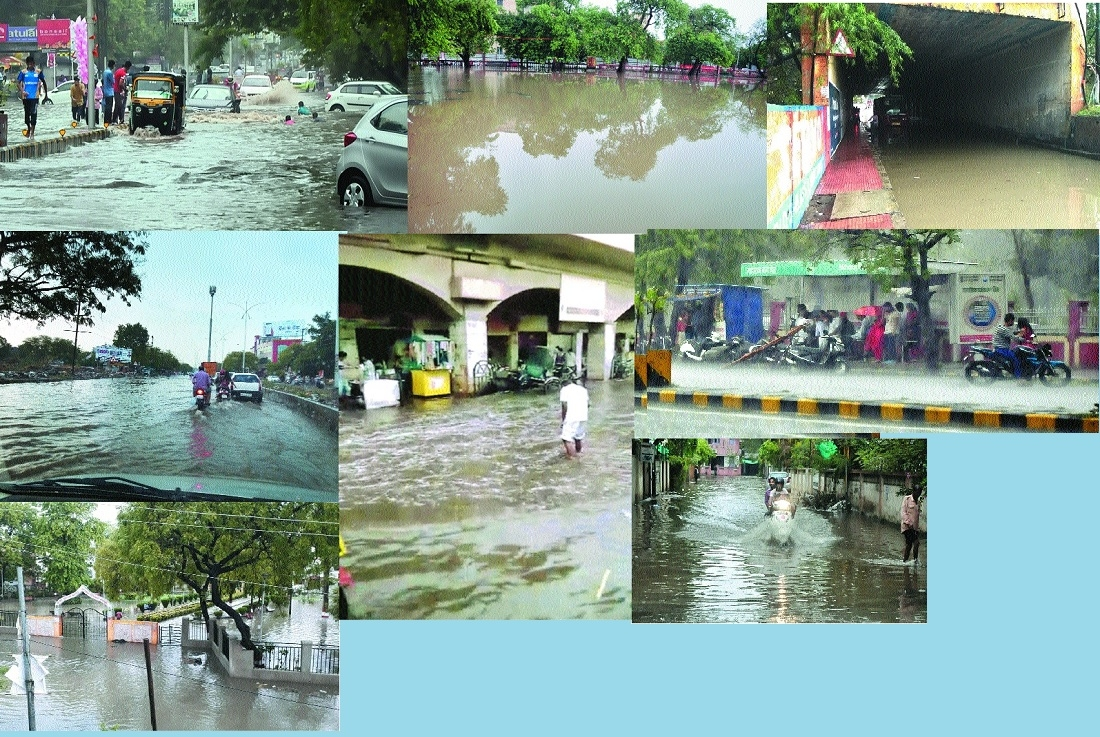 City fails monsoon test in the very first spell