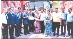LIC donates hearse van to JMC