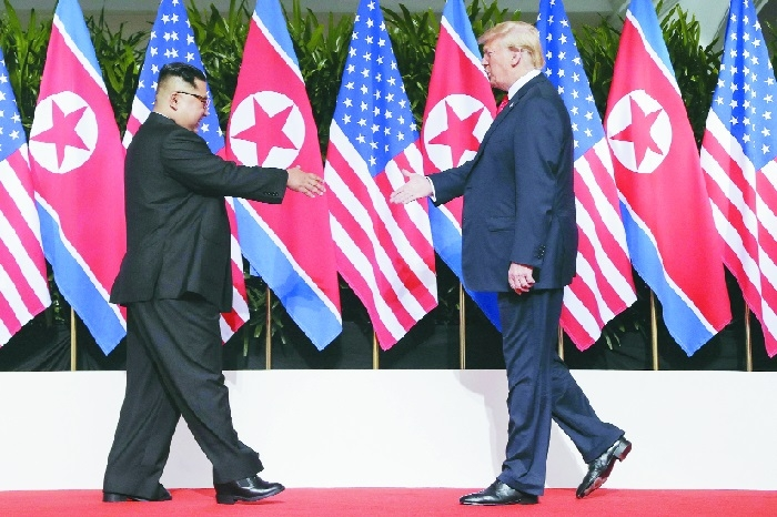 Kim agrees on 'denuclearisation'; Trump on security guarantees